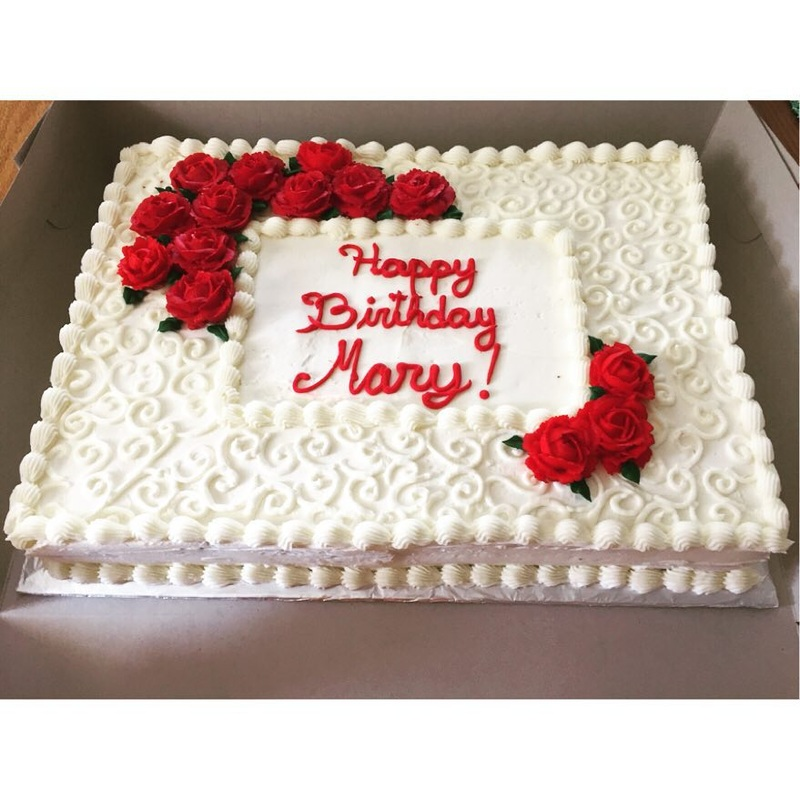 Cake Design In Square Shape : Cakes Gallery